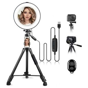 """10""""Ring Light with Phone Holder"""